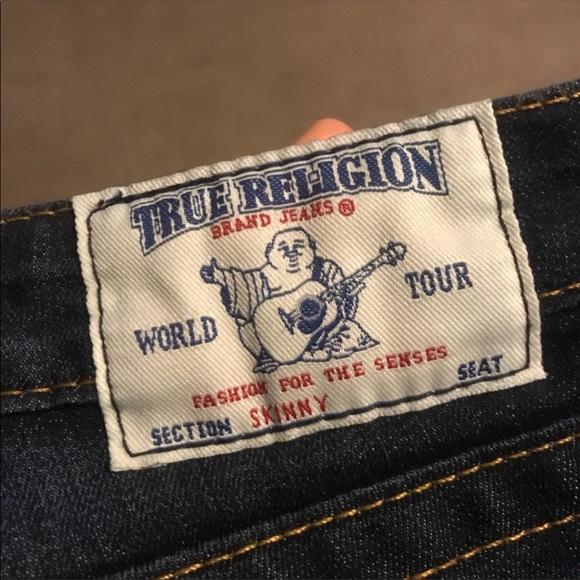 True Religion Denim - Got them as a gift too small worn them ones.